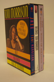 Three Volume Toni Morrison Boxed Set: Jazz; Beloved; Song of Solomon, Morrison, Toni