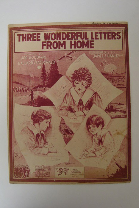 Three Wonderful Letters from Home, Goodwin, Joe; Macdonald, Ballard; Hanley, James F.