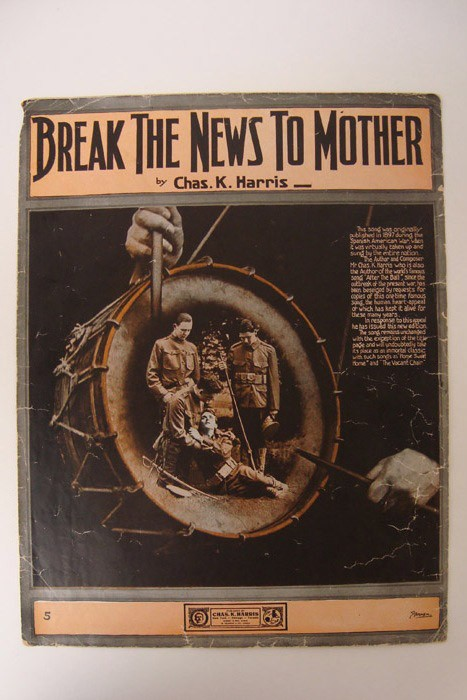 Break the News to Mother, Harris, Chas. K.