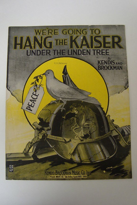 We're Going to Hang the Kaiser under the Linden Tree, Kendis & Brockman