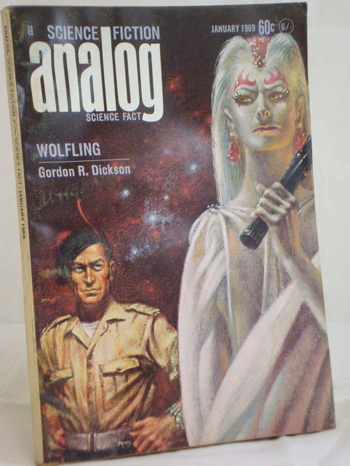 Analog: Science Fiction and Fact - January 1969, Dickson, Gordon R.; Thomas, Ted; McCord, Guy; Perkins, Lawrence A.; Yaco, Murray
