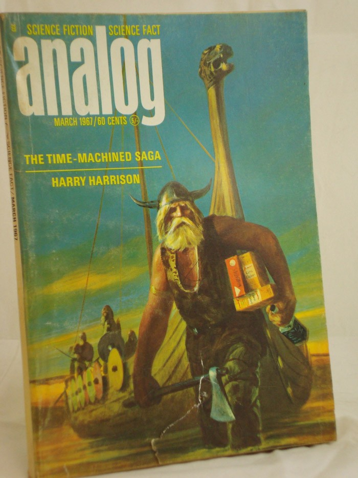 Analog: Science Fiction and Fact - March 1967, Harrison, Harry; Reynolds, Mack; Karageorge, Michael; Anvil, Christopher; FitzPatrick, R.C.