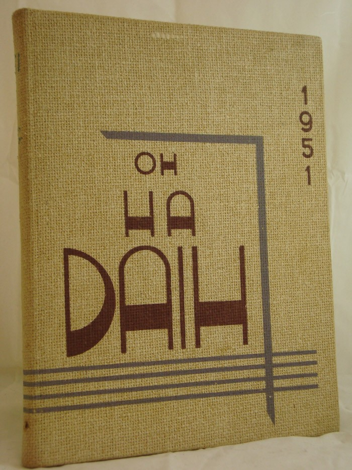 The 1951 Oh-Ha-Daih (State University Teachers College at Geneseo, New York Yearbook)