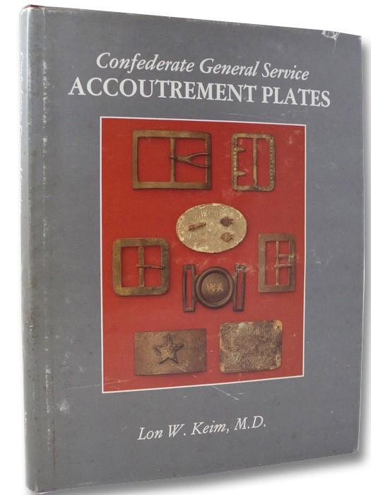 Confederate General Service Accoutrement Plates, Keim, Lon W.