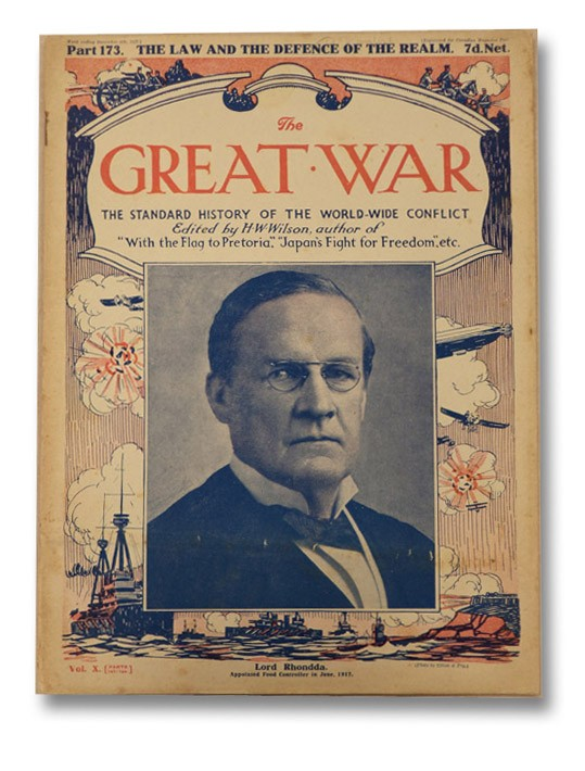 The Great War: The Standard History of the World-Wide Conflict, Vol. X, Part 173 - The Law and the Defence of the Realm, Wilson, H.W.; Hammerton, J.A.