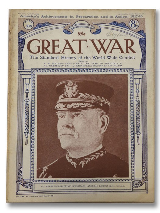 The Great War: The Standard History of the World-Wide Conflict, Vol. XI, Part 208 - America's Achievements in Preparation and in Action, 1917-1918, Wilson, H.W.; Hammerton, J.A.