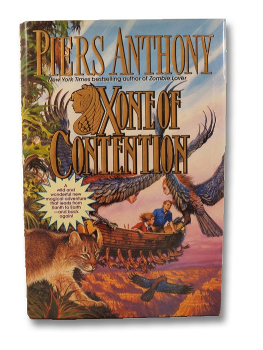 Xone of Contention (The Xanth Series Book 23), Anthony, Piers
