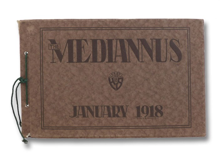The Mediannus Published by the Class of January, 1918: East High School