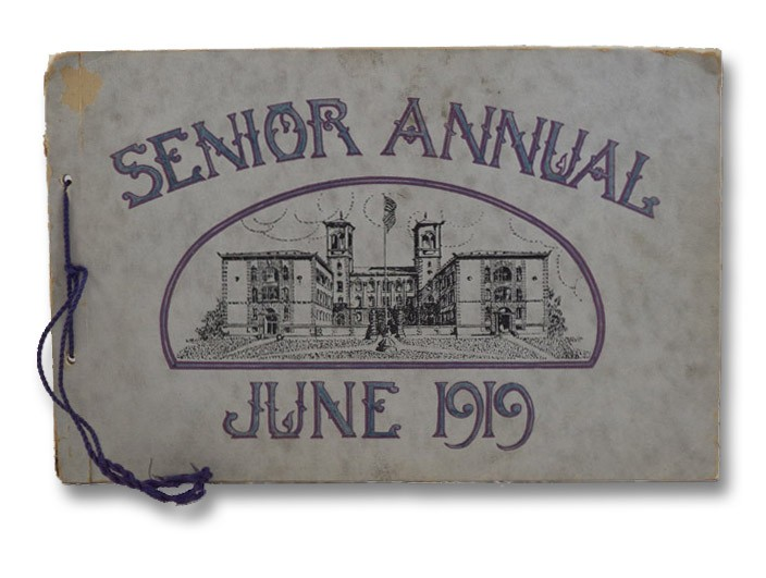 Senior Annual June 1919 (East High School)