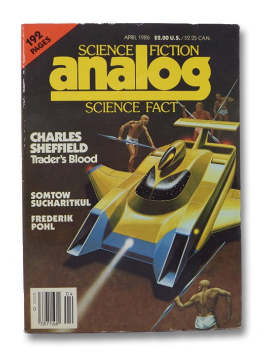 Analog Science Fiction: April 1986, Analog SF