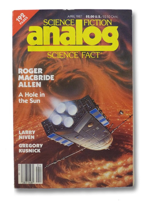 Analog Science Fiction: April 1987, Analog SF