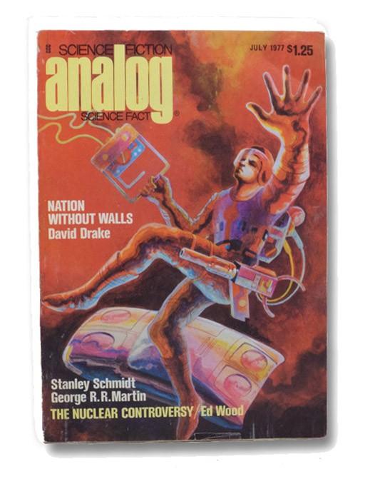 Analog Science Fiction: July 1977, Analog SF