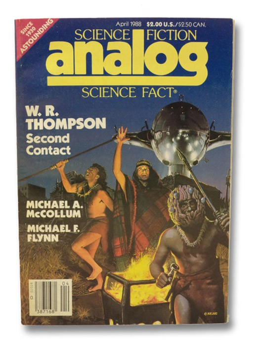Analog Science Fiction: April 1988, Analog SF