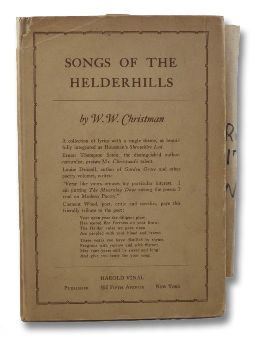 Songs of the Helderhills, Christman, W.W.