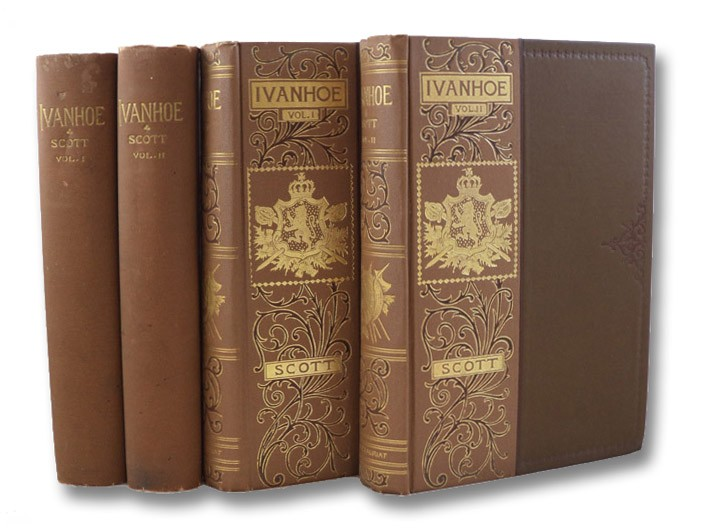 Ivanhoe, in Two Volumes (Illustrated Holiday Edition), Scott, Walter; Lang, Andrew (Editor)