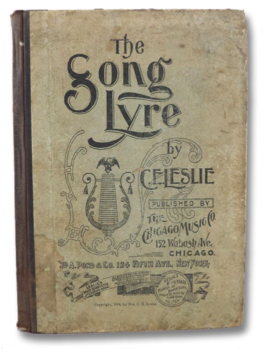 The Song Lyre, Leslie, C.E.