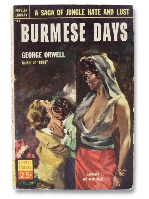 Burmese Days, Orwell, George