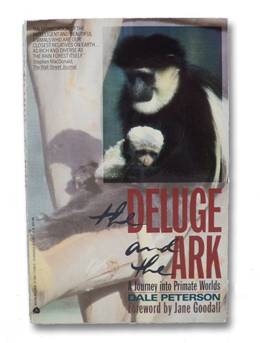 The Deluge and the Ark, Peterson, Dale; Goodall, Jane (Foreword)