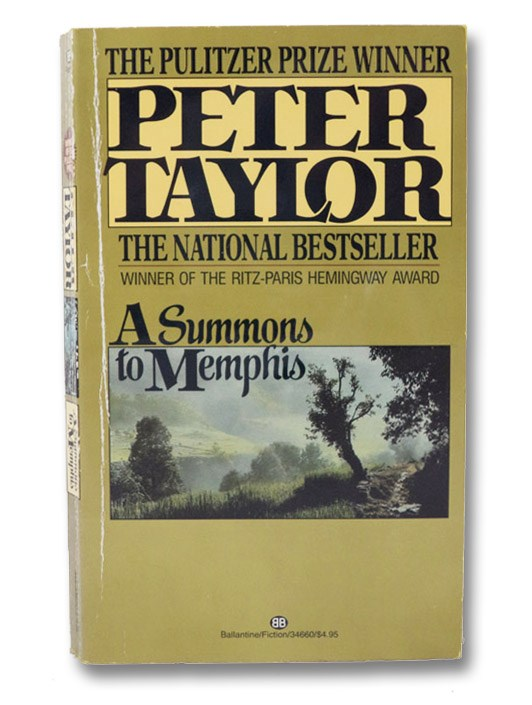 A Summons to Memphis, Taylor, Peter