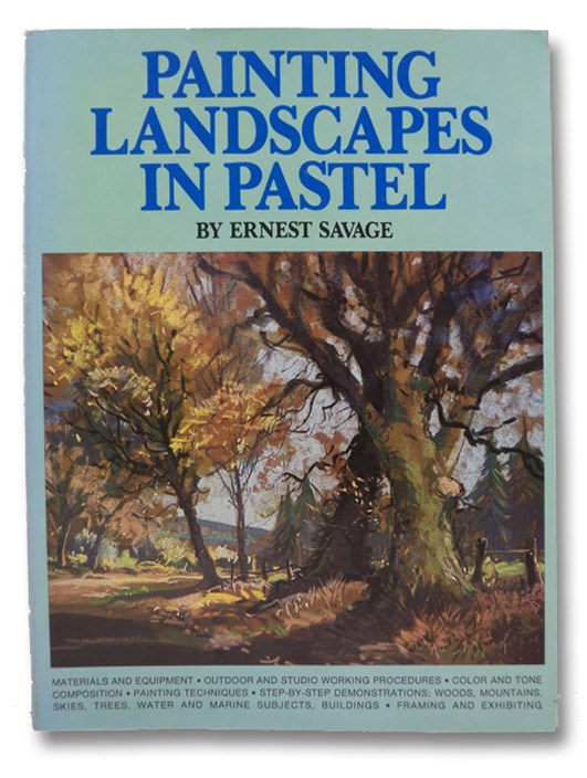 Painting Landscape in Pastel, Savage, Ernest