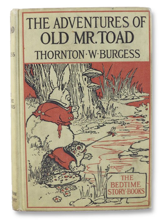 The Adventures of Old Mr. Toad (The Bedtime-Story Books), Burgess, Thornton W.