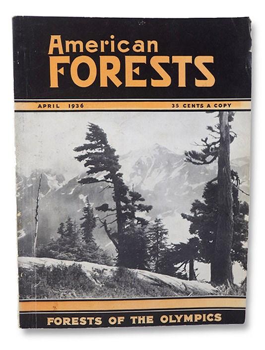 American Forests Volume 42, Number 4: April, 1936, Butler, Ovid; Cromelin, L.M.; Kauffman, Erle