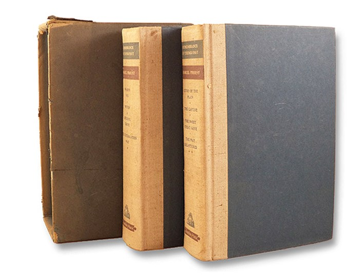 Remembrance of Things Past 2-Volume Hardcover Set in Slipcase: Swann's Way; Within a Budding Grove; The Guermantes Way; Cities of the Plain; The Captive; The Sweet Cheat Gone; The Past Recaptured, Proust, Marcel; Moncrief, C.K. Scott (Translator)