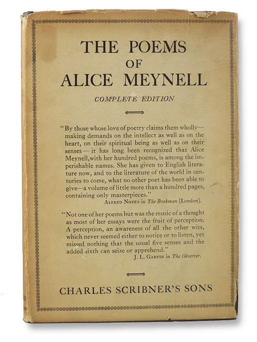 The Poems of Alice Meynell: Complete Edition, Meynell, Alice