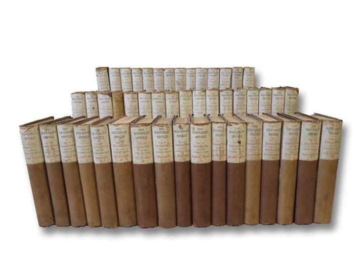 The Waverley Novels, Illustrated Edition in 48 Volumes, with the Author's Notes, Scott, Sir Walter