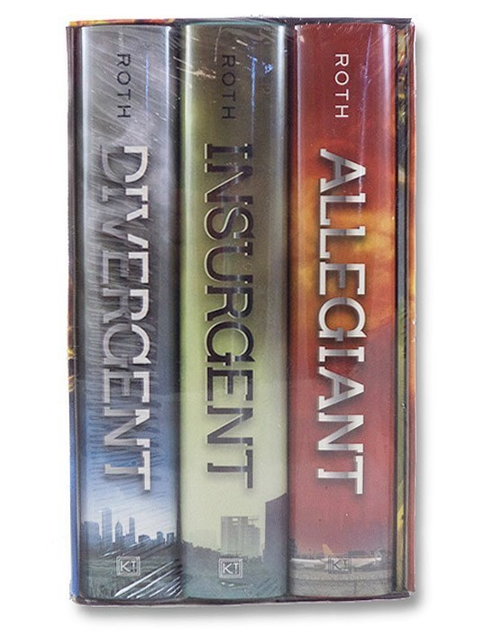 Divergent; Insurgent; Allegiant (Three-Volume Boxed Set), Roth, Veronica