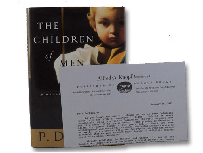 The Children of Men: Signed Review Copy, James, P.D.