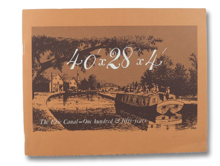 40'x28'x4': The Erie Canal - 150 Years, Wyld, Lionel D.