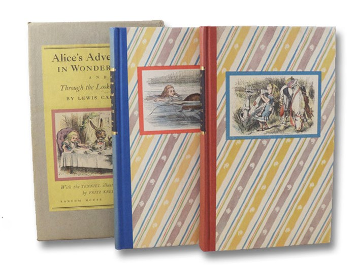 Alice's Adventures in Wonderland and Through the Looking-Glass and What Alice Found There (2 Volume Boxed Set), Carroll, Lewis