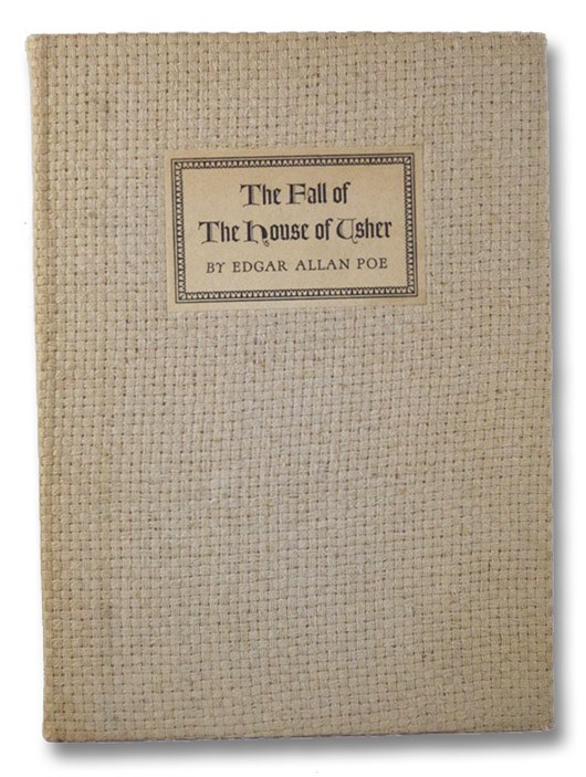 The Fall of the House of Usher, Poe, Edgar Allan
