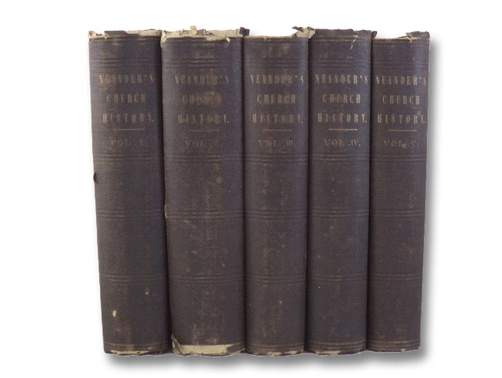 General History of the Christian Religion and Church: From the German of Dr. August Neander. Translated from the Second and Improved Edition. in Five Volumes:, Neander, August; Torrey, Joseph