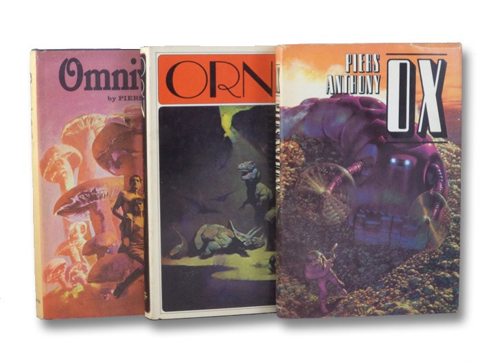 Of Man and Manta Trilogy Three Book Set: Omnivore; Orn; Ox, Anthony, Piers