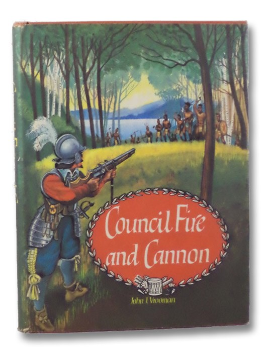 Council Fire and Cannon, Vrooman, John J.