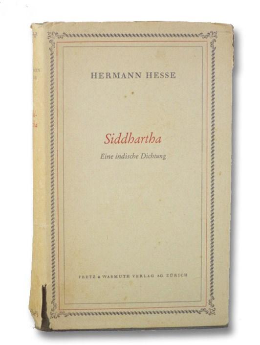 Siddhartha: Eine indische Dichtung, Hesse, Hermann