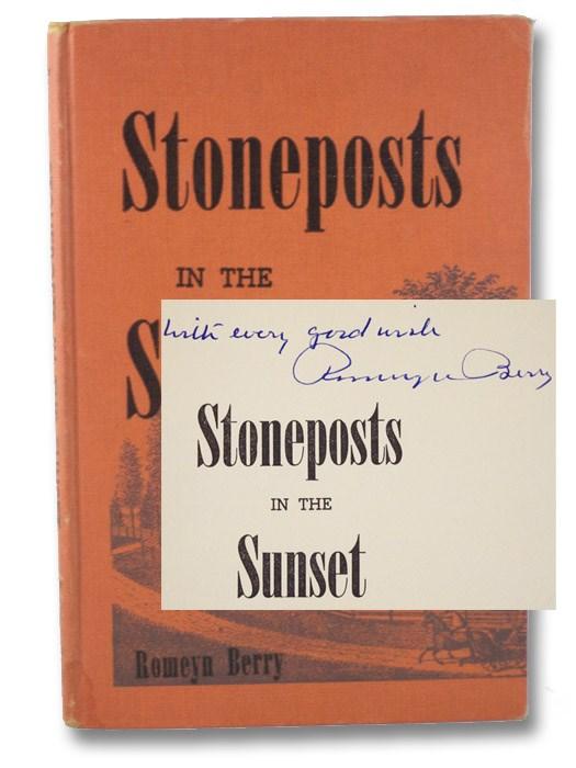 Stoneposts in the Sunset, Berry, Romeyn