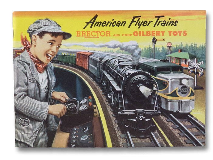 American Flyer Trains: Erector and Other Gilbert Toys 1953, Gilbert Toys