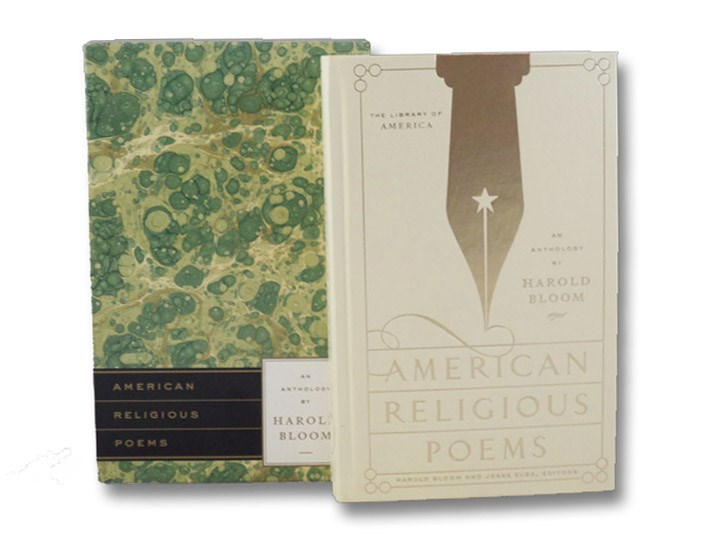 American Religious Poems: An Anthology, Bloom, Harold; Zuba, Jesse