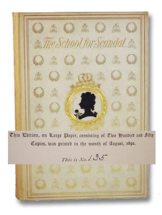 School For Scandal, Sheridan, Richard Brinsley