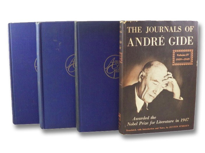 The Journals of Andre Gide, in Four Volumes: 1889-1913; 1914-1927; 1928-1939; 1939-1949, Gide, Andre; O'Brien, Justin