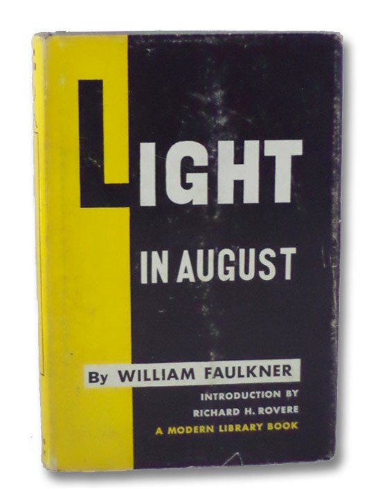 Light in August (The Modern Library of the World's Best Books No. 88), Faulkner, William; Rovere, Richard H.