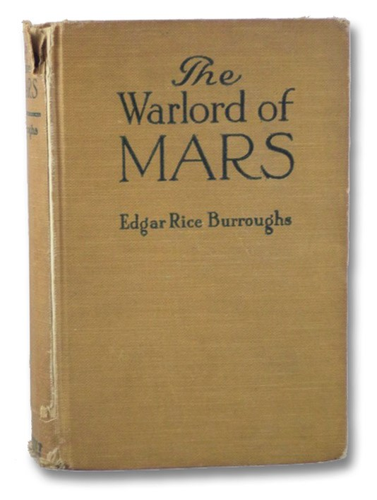 The Warlord of Mars, Burroughs, Edgar Rice