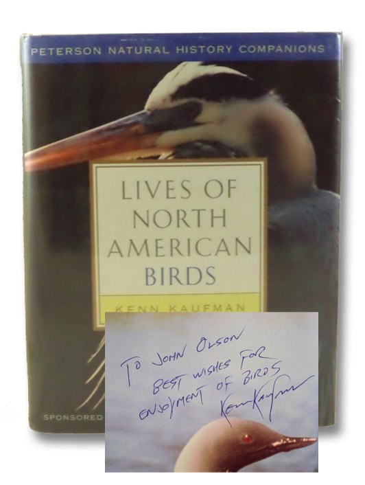 Lives of North American Birds (Peterson Natural History Companions), Kaufman, Kenn