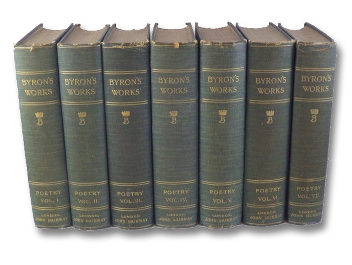 The Works of Lord Byron. A New, Revised and Enlarged Edition, with Illustrations - Poetry. Vols. I-VII [1-7], Byron, Lord (Byron, George Gordon); Coleridge, Ernest Hartley