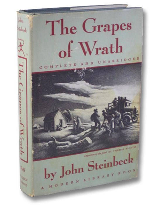 The Grapes of Wrath (The Modern Library of the World's Best Books ML 148), Steinbeck, John
