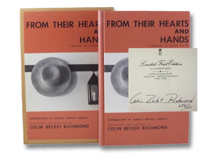 From Their Hearts and Hands: A Treasury of Shaker Poetry, Richmond, Colin Becket