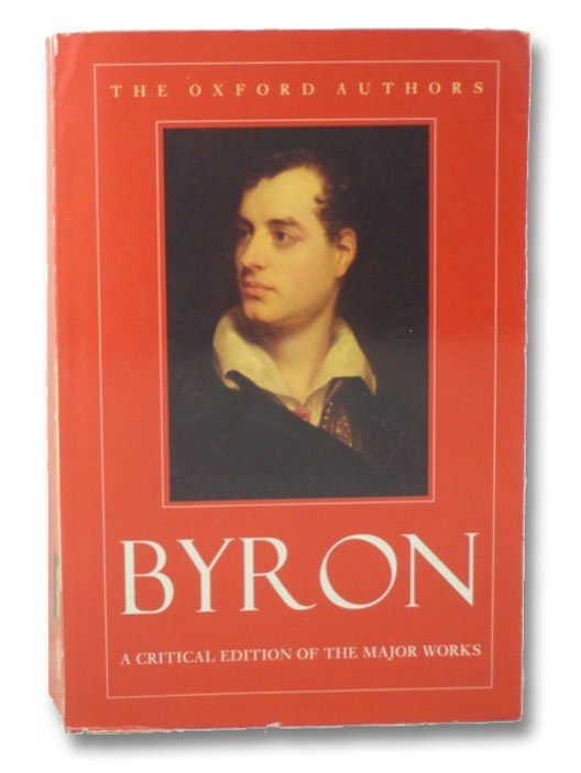 Byron (The Oxford Authors), Byron, Lord